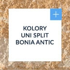 kolory uni split® bonia antic