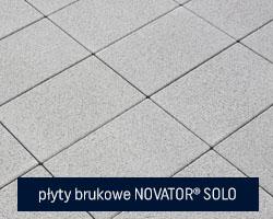 płyty brukowe novaotor solo