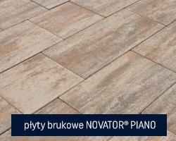 płyty brukowe novator piano